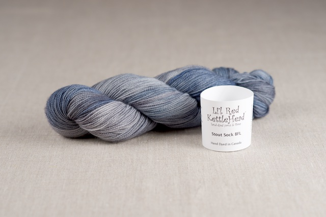 Stout Sock BFL - Stonewashed